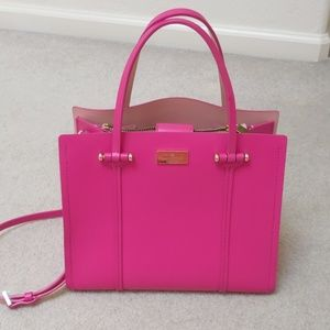Kate Spade Hot Pink Leather Satchel